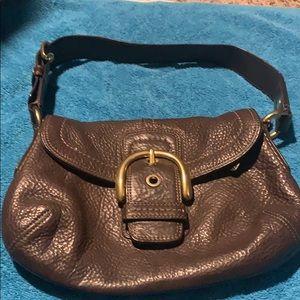 Brown shoulder Coach purse! Great condition!